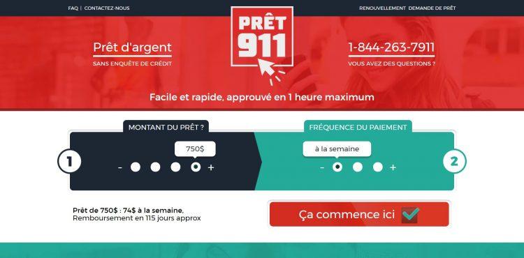 pret911 : prêt d'argent facile et rapide